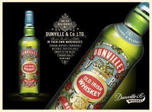 Dunvilles whiskey Belfast image for Amazing Food and Drink Northern Ireland blog